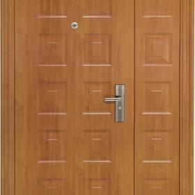 Ocelové dveře PP2D203P31vchodové ocelové dveře, stavební otvor 205x120cm