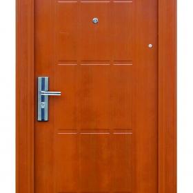 Ocelové dveře FX-S005 vchodové ocelové dveře,stavební otvor 205x96cm a stavební otvor 205x86cm
