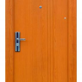Ocelové dveře FX-S004 vchodové ocelové dveře,stavební otvor 205x96cm a stavební otvor 205x86cm