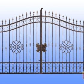 Brány Kovaná brána FSM-008 Č. rozměr 350x250cm