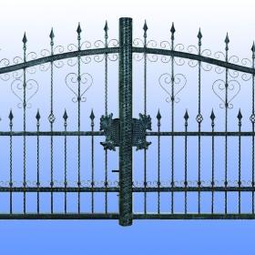 Brány  Kovaná brána JaP 013  rozměr 350x180cm