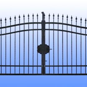 Brány Kovaná brána JaP 021  rozměr 350x180cm