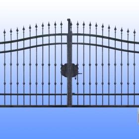 Brány Kovaná brána JaP 022   rozměr 350x180cm