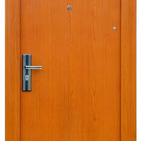 Ocelové dveře FX-S001 vchodové ocelové dveře,stavební otvor 205x96cm a stavební otvor 205x86cm