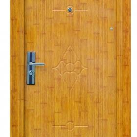 Ocelové dveře FX-S007 vchodové ocelové dveře,stavební otvor 205x96cm a stavební otvor 205x86cm