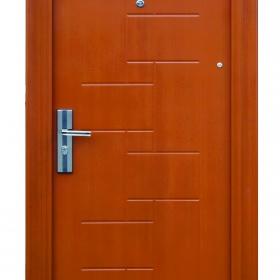 Ocelové dveře FX-S008  vchodové ocelové dveře,stavební otvor 205x96cm a stavební otvor 205x86cm