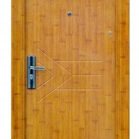 Ocelové dveře FX-S011 vchodové ocelové dveře,stavební otvor 205x96cm a stavební otvor 205x86cm