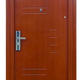 Ocelové dveře FX-S029 vchodové ocelové dveře,stavební otvor 205x96cm a stavební otvor 205x86cm