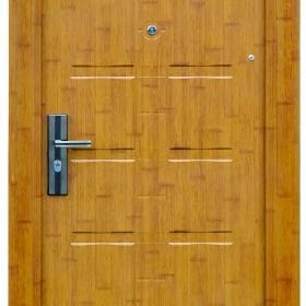 Ocelové dveře FX-S033 vchodové ocelové dveře,stavební otvor 205x96cm a stavební otvor 205x86cm