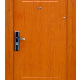Ocelové dveře FX-S036  vchodové ocelové dveře,stavební otvor 205x96cm a stavební otvor 205x86cm