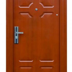 Ocelové dveře FX-S053 vchodové ocelové dveře,stavební otvor 205x96cm a stavební otvor 205x86cm