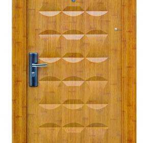 Ocelové dveře FX-S062 vchodové ocelové dveře,stavební otvor 205x96cm a stavební otvor 205x86cm