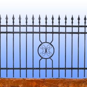 Ploty Kovaný plot JaP 028 rozměr 200x120cm