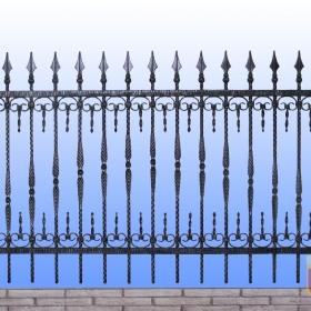 Ploty Kovaný plot JaP 032 rozměr 200x120cm