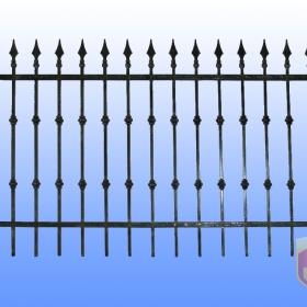 Ploty Kovaný plot JaP 046  rozměr 200x120cm