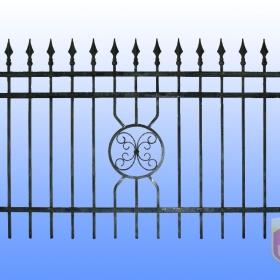 Ploty Kovaný plot JaP 050 rozměr 200x120cm