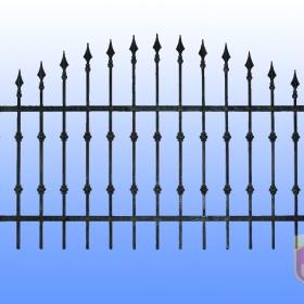 Ploty Kovaný plot JaP 052  rozměr 200x120cm