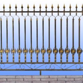 Ploty Kovaný plot MT-229  rozměr 230x135cm,230x160cm