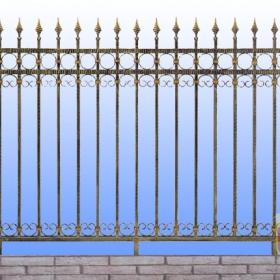 Ploty Kovaný plot ZY-W04006  230x135cm
