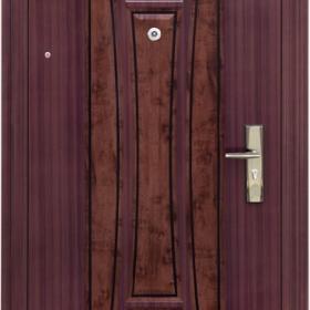 Ocelové dveře PP-A-01vchodové ocelové dveře,stavební otvor 205x96cm