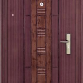 Ocelové dveře PP-A-02 vchodové ocelové dveře,stavební otvor 205x96cm