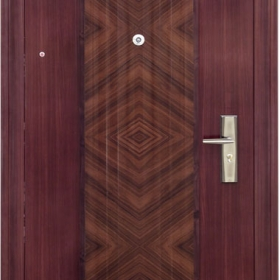 Ocelové dveře PP-A-06 vchodové ocelové dveře,stavební otvor 205x96cm