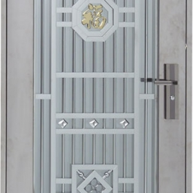 Nerezové dveře PP-G-45