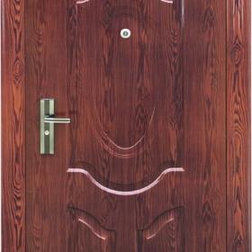 Ocelové dveře PP1D106F31vchodové ocelové dveře,stavební otvor 205x96cm
