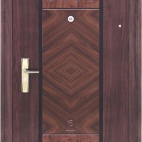 Ocelové dveře PP1D116Z31vchodové ocelové dveře,stavební otvor 205x96cm
