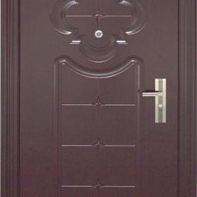 Ocelové dveře PP1D118Z31vchodové ocelové dveře,stavební otvor 205x96cm