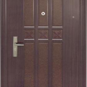 Ocelové dveře PP1D123Z31 ZF8 vchodové ocelové dveře,stavební otvor 205x96cm