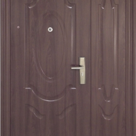 Ocelové dveře PP2D202Z31vchodové  ocelové dveře,stavební otvor 205x120cm